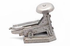 Old steel stapler Stock Photo