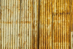 Old steel wall in Malacca, Malaysia Royalty Free Stock Photo
