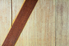 Old steel on wood pattern background texture Royalty Free Stock Photos