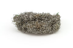 Old steel wool pad Royalty Free Stock Photos