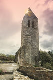 Old steeple Stock Photo
