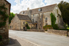 Old steet in  Bibury Royalty Free Stock Images