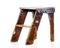 Old Step Stool Stock Photography