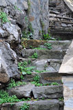 Old Steps Royalty Free Stock Photo