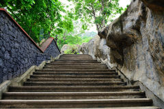 Old steps up Royalty Free Stock Images