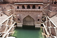 Old stepwell at Jodhpur, India Stock Images