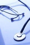 Old stethoscope Stock Photo