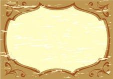 Old stile frame. Rectangle pattern Royalty Free Stock Photo