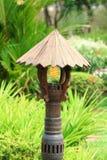 Old stlye garden lamp Stock Photo