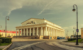 The Old Stock Exchange building. Backside view. Royalty Free Stock Images