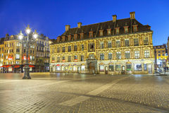 Old stock exchange building in Lille. Old stock exchange building in the centre of Lille, France royalty free stock images