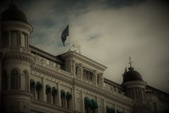 Old Stockholm. The greatness of architectural compositions of the last century Royalty Free Stock Images