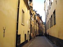 Old Stockholm street Stock Images