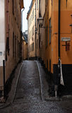Old Stockholm streets Stock Photography