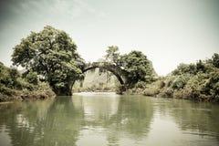Old stone arch bridge Royalty Free Stock Photo