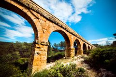 Old stone arch bridge Royalty Free Stock Photos