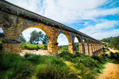 Old stone arch bridge Royalty Free Stock Images