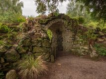 Old stone archway royalty free stock photos