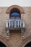 Old stone balcony Stock Photography