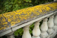 Old stone balustrade Royalty Free Stock Photo