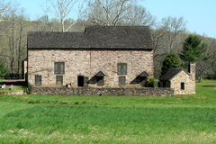 Old stone barn Stock Image
