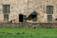 Old stone barn Royalty Free Stock Photos