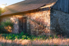 Old stone barn. Stock Photography