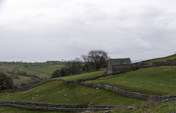Old stone barn Royalty Free Stock Images