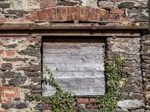 Abandoned Barn Window Royalty Free Stock Photos