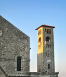 Old stone bell tower Royalty Free Stock Photo