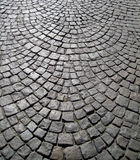 Old stone block paving background Stock Image