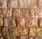 An Old Block Wall Stock Photography
