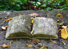 Old stone book Stock Photos