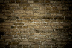 Old stone brick wall as background Stock Image
