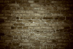 Old stone brick wall as background Royalty Free Stock Photos