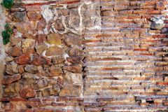 Old Stone and Brick Wall Stock Photos