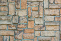 Old stone brick wall texture background. Stock Photography