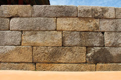 Old stone brick wall texture Royalty Free Stock Photos