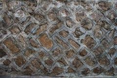 Old stone brick wall texture Royalty Free Stock Image