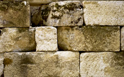 Old stone bricks Stock Photography