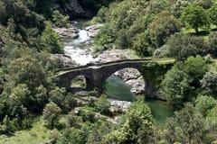 Old stone bridge Stock Images