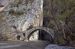 Old stone bridge Stock Photography