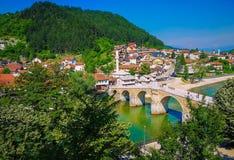 The Old Stone Bridge royalty free stock image