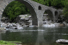 Old stone bridge Royalty Free Stock Images