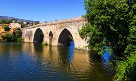 Old stone bridge at Petin Stock Photo