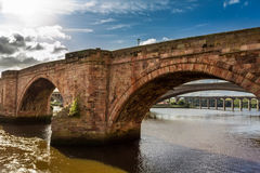 Old stone bridge in Scotland stock photos