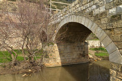 Old stone bridge. Royalty Free Stock Image