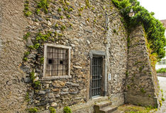 Old stone building in Chur, Switzerland Royalty Free Stock Photos