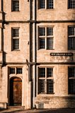 Old building in Oxford UK Royalty Free Stock Photography