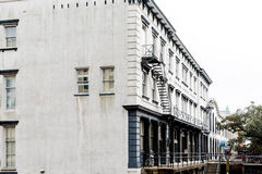 Old Stone Building in Savannah Stock Image